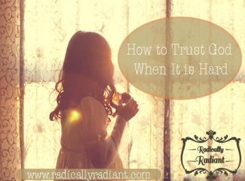 trusting God blog